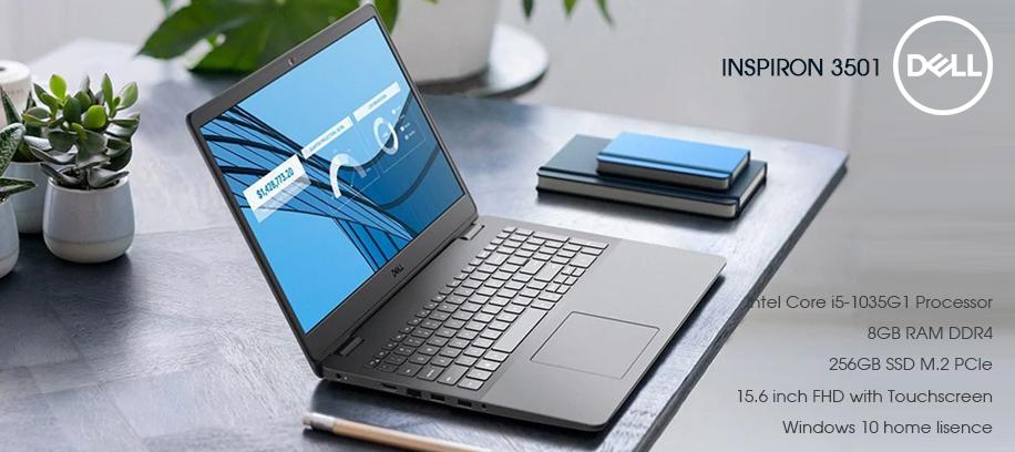 Laptop Dell inspiron 3501 hot