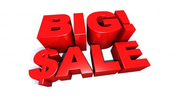 BIG SALE: Sập giá tháng 9