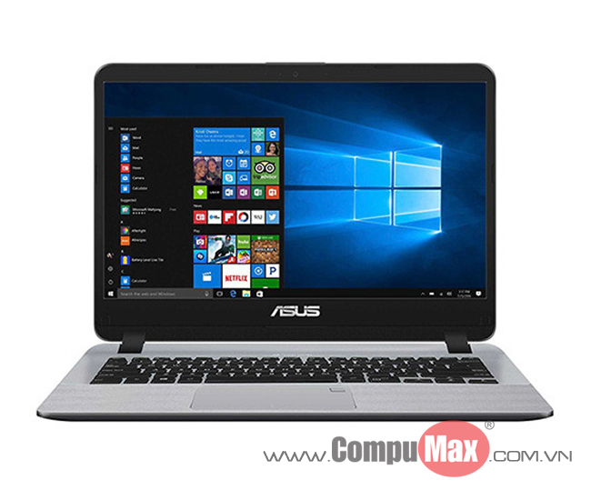 Asus Vivobook X407UA-BV345T i3-7020U 4GB 1TB 14HD W10
