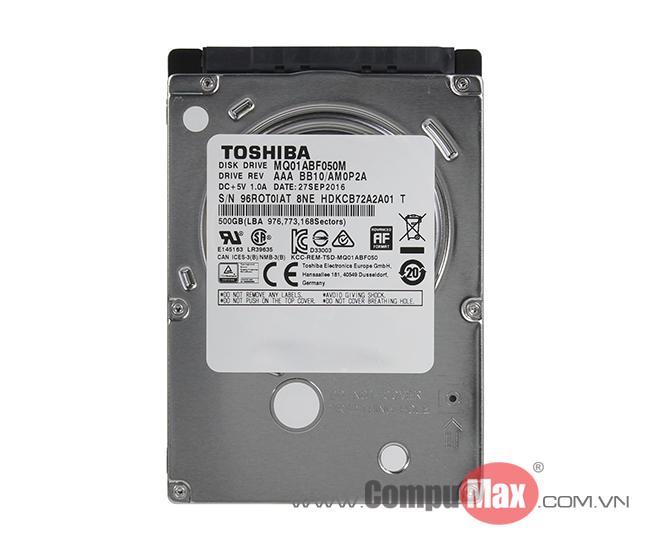 HDD Laptop Toshiba 500GB SATA3 5400rpm 7mm