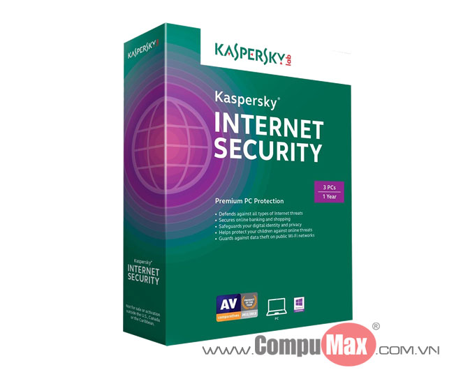 Kaspersky Internet Security 3 PCs