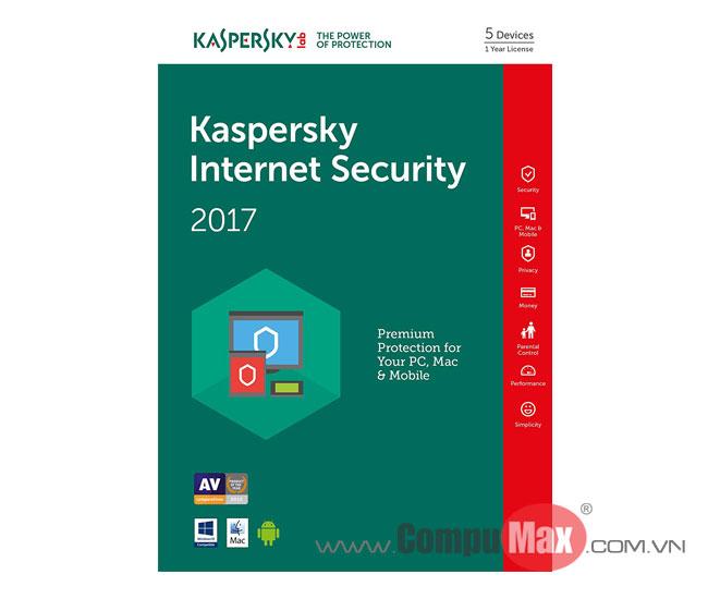 Kaspersky Internet Security 5 PCs