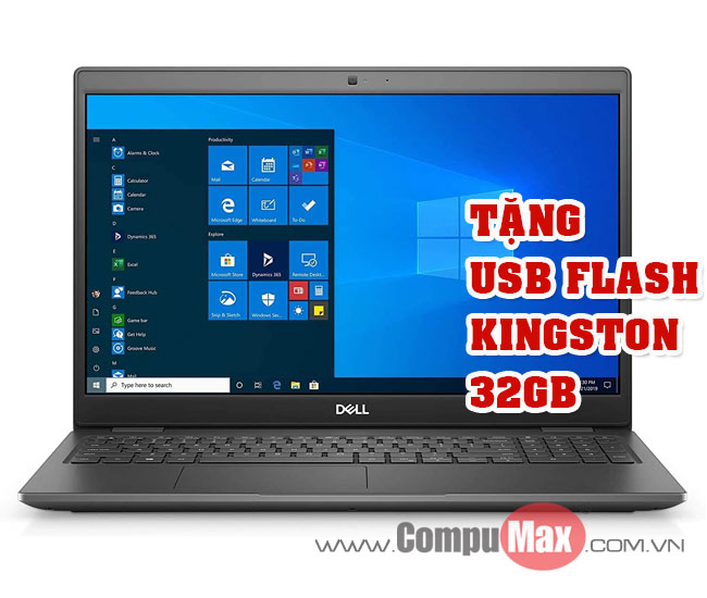 Dell Latitude 3510 70233210 i3 10110U 4GB 1TB 15.6HD Fedora Black