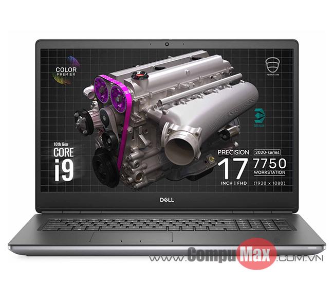 Dell Precision 7750 i7 10850H 32GB 512SS 17.3FHD RTX3000 6GB W10P