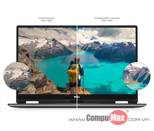 Dell XPS 13 9365 i5-7Y54 4GB 128SS 13.3FHD Touch Flip 360 W10