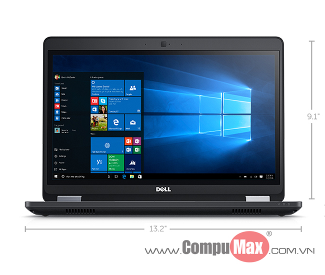Dell Latitude E5470 i7 6820HQ 8GB 256SS 14HD W10P