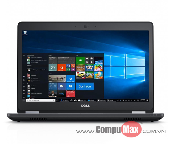 Dell Latitude 5480 i7 7820HQ 16GB 256SS 2G 14FHD W10P