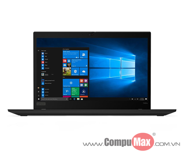 LENOVO ThinkPad T490s i7-8565U 16GB 512SS 14FHD W10P Finger Black