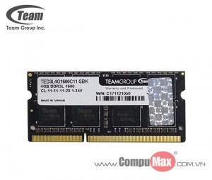 RAM Team Elite DDR3 1600MHz 4GB