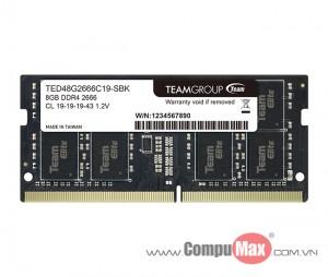 RAM Team Elite DDR4 2400/2666MHz 8GB