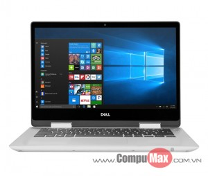 Dell Inspiron 5491 2-in-1 i5 10210U 8GB 256SS 14.0 FHD Touch W10 Silver