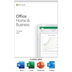 Office Home and Business 2019 for 1 PC/Mac