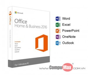 Office Home and Business 2016 for Win
